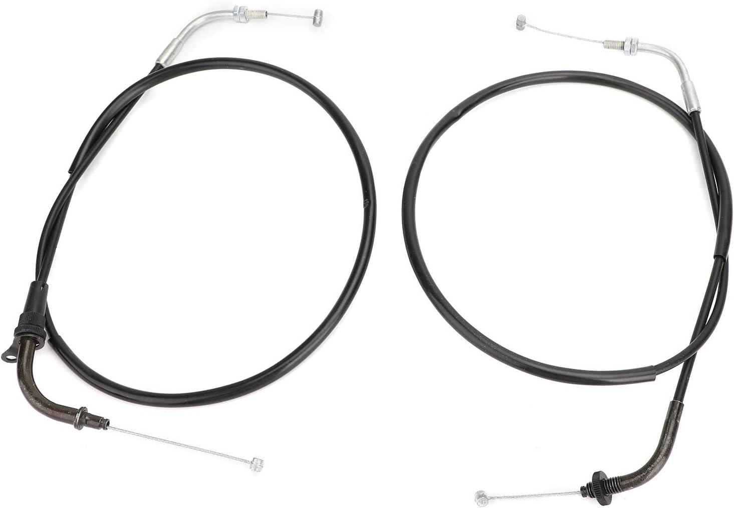 Throttle Cable Wires for Yamaha XVS400 DS400 V-star 96-12 XVS650 V-star 98-15 Bruce /& Shark