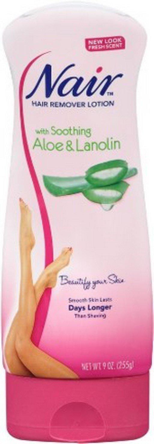 Nair Lot Aloe Vera (New) Size 9z Nair Aloe Vera Hair Remover Lotion