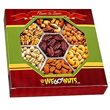 Amazon.com : We Got Nuts Gift Baskets, Holiday Nuts Gift Basket ...