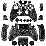 WPS XBOX One Custom Hydro Dipped Black Sliver Replacement Housing Shell Cases Kits with Buttons For XBOX ONE Wireless Controller with T6 T8 driver