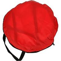 Velo di piroga pieghevole trasparente con sacchetto di sistemazione accessori per kayak