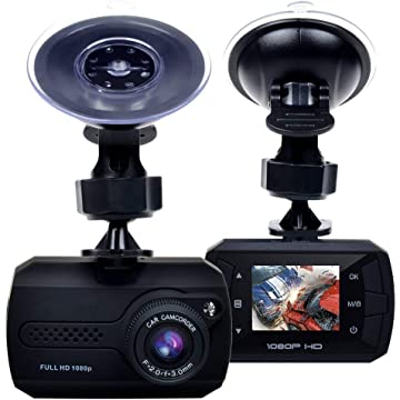 Cinlitek Dash Cam, Dash Camera 1.5 inch LCD FHD 1080p DVR Dash Camera for Cars with 170 degree Wide Angle WDR with Night Vision, Motion Detection, Loop Recording and G-sensor