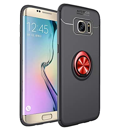 Amazon.com: Heavy Armor Galaxy S7 Edge - Anillo de soporte ...