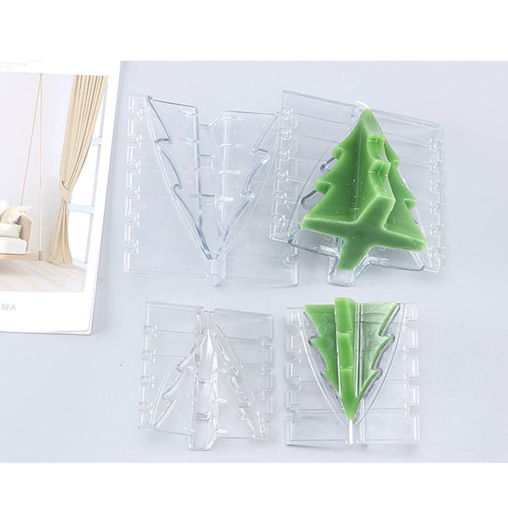 ZJL220 Weihnachtsbaum kerzenform f/ür DIY weihnachtsferiengeschenk kerzenherstellung liefert a
