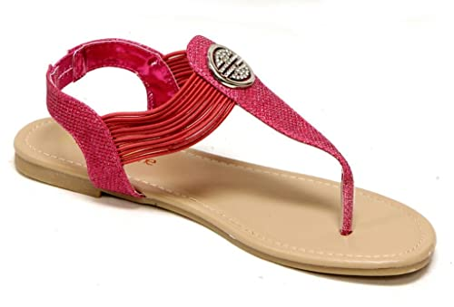 7e5967f38d45d0 Anna Home Collection Anna Talia-3 Women s flip-Flop Thong T-Strap Round