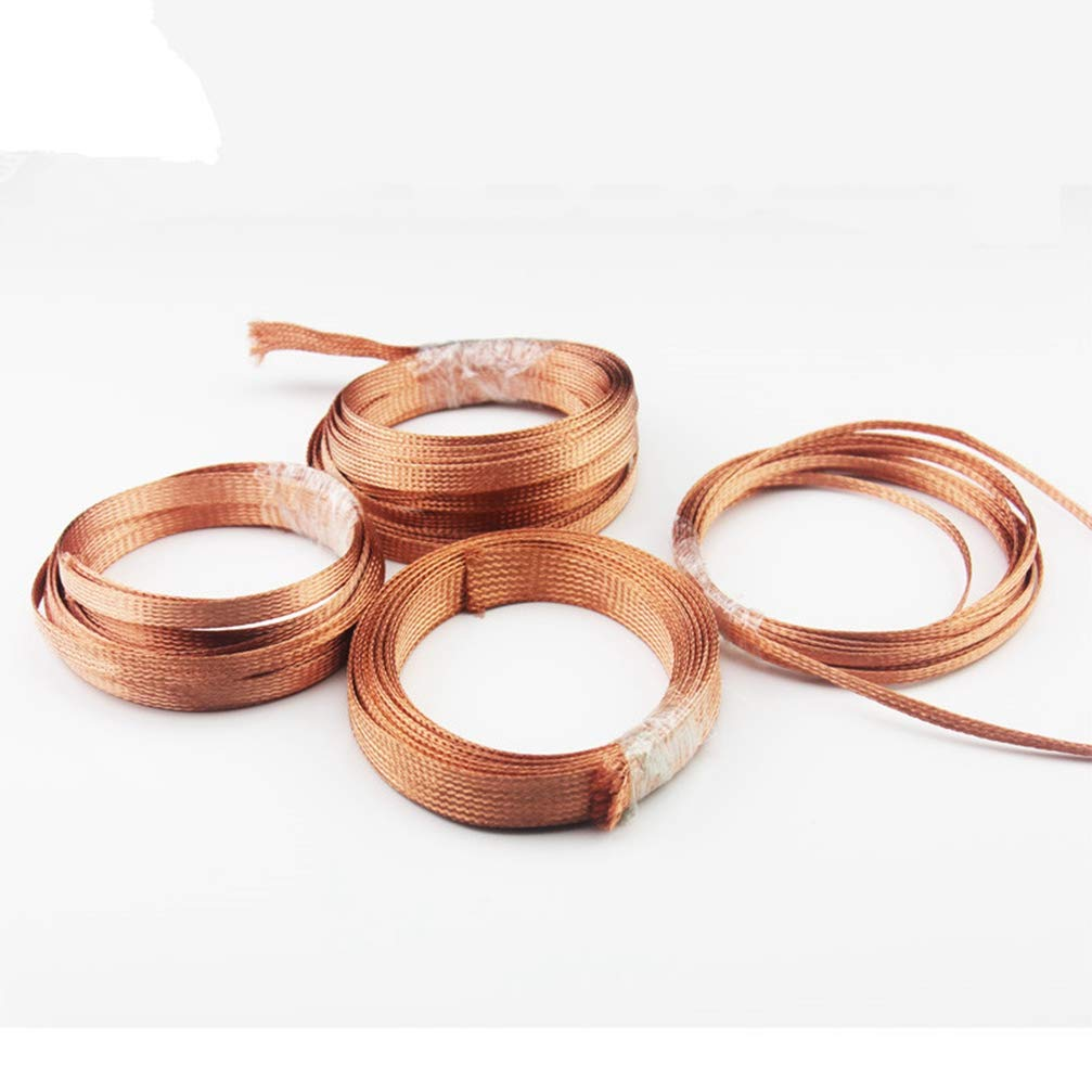 5M Copper Shield Network 2mm-10mm Cable Sleeve Braided Anti-interference for Power Audio Speaker Metal sheath