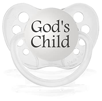 Amazon.com: Personalizada Chupete (transparente): Baby