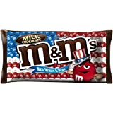 M&M'S Milk Chocolate (2 Pack) Patriotic Red White and Blue Candy, 11.4 oz.