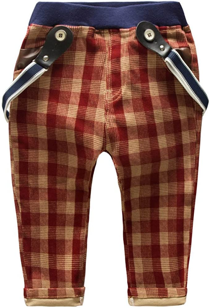 Amazon.com: eTree Little Boys pantalones de bebé de algodón ...