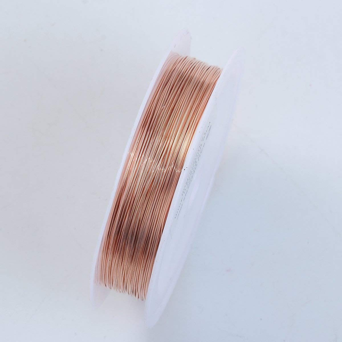 Rose Gold Color Wire 26 Gauge,Thickness 0.4MM WRG-101-26G