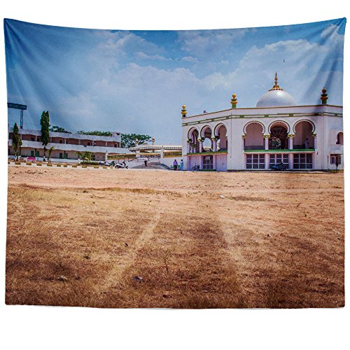 Westlake Art - Muslim Islam - Wall Hanging Tapestry - Picture Photography Artwork Home Decor Living Room - 68x80 Inch (25690) by Westlake Art
