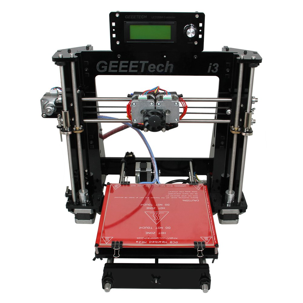 Geeetech I3 Pro C, Dual Extruder,double Head,reprap Pursa I3 3d Printer,two-color Printing, High Resolution by Geeetech: Amazon.es: Deportes y aire libre