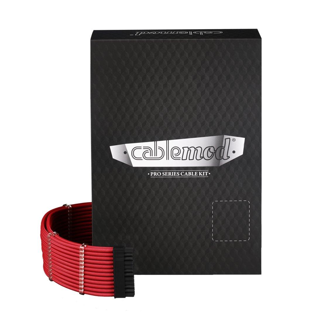 CableMod PRO ModMesh C-Series AXi, HXi & RM Cable Kit - RED CM-PCSI-FKIT-NKR-R