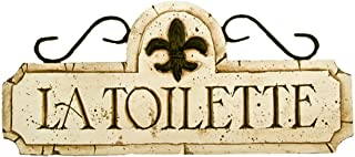product image for Piazza Pisano Toilette Bathroom Door Sign