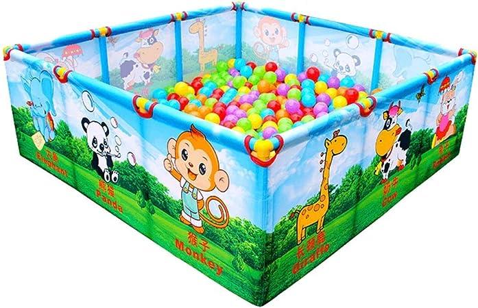 Parque infantil para bebés Juego para bebés Juego para niños Parque infantil para bebés Jardín de infantes Bebé Alfombra para gatear Barandilla para niños pequeños Fuerte y duradero/Hecho de alta: Amazon.es: Hogar