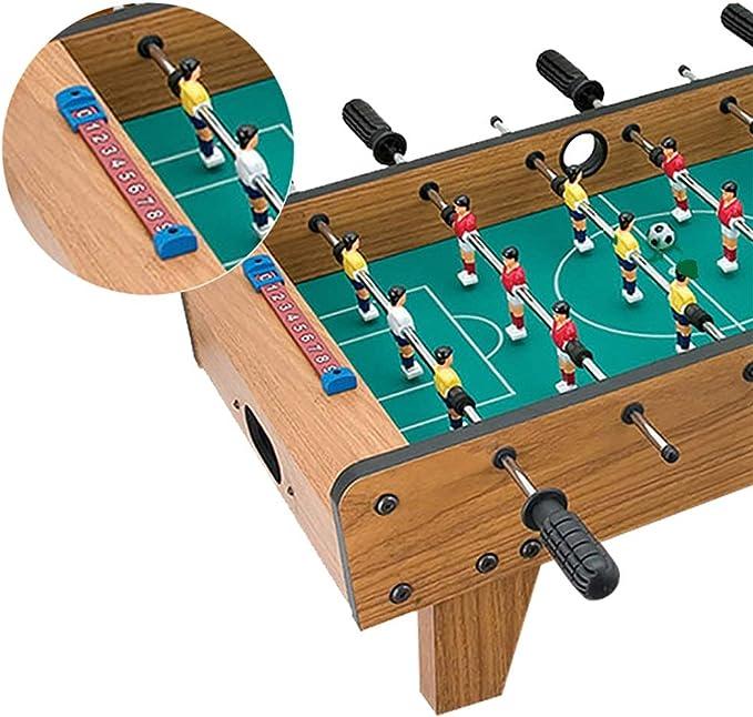 Mesa de fútbol Juegos de fútbol Tablero de fibra de madera Club de ...