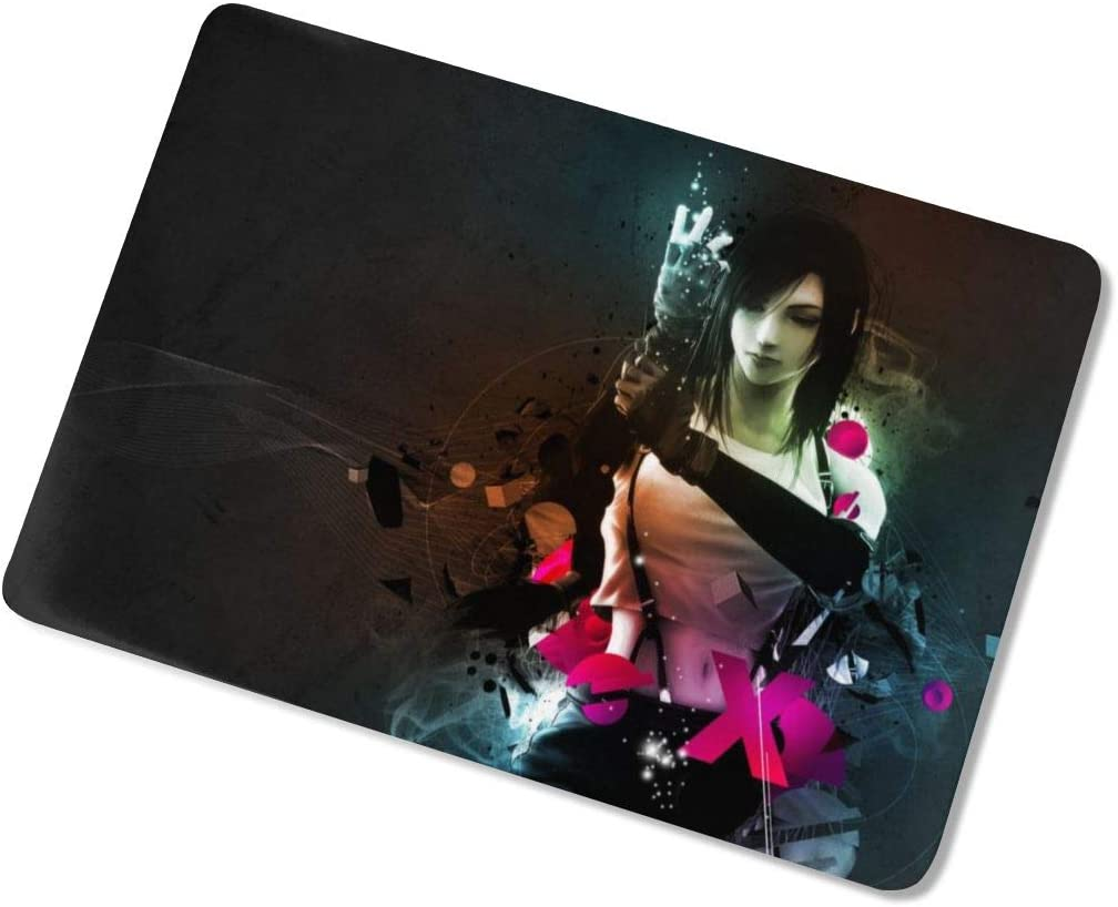 Final Fantasy Tifa Laptop Case MacBook Non-Slip Durable Waterproof Plastic Hard Shell Case,for MacBook New Air 13//Air 13//15 Inch//Touch 13//15inch PVC Laptop Protective Cover touch13