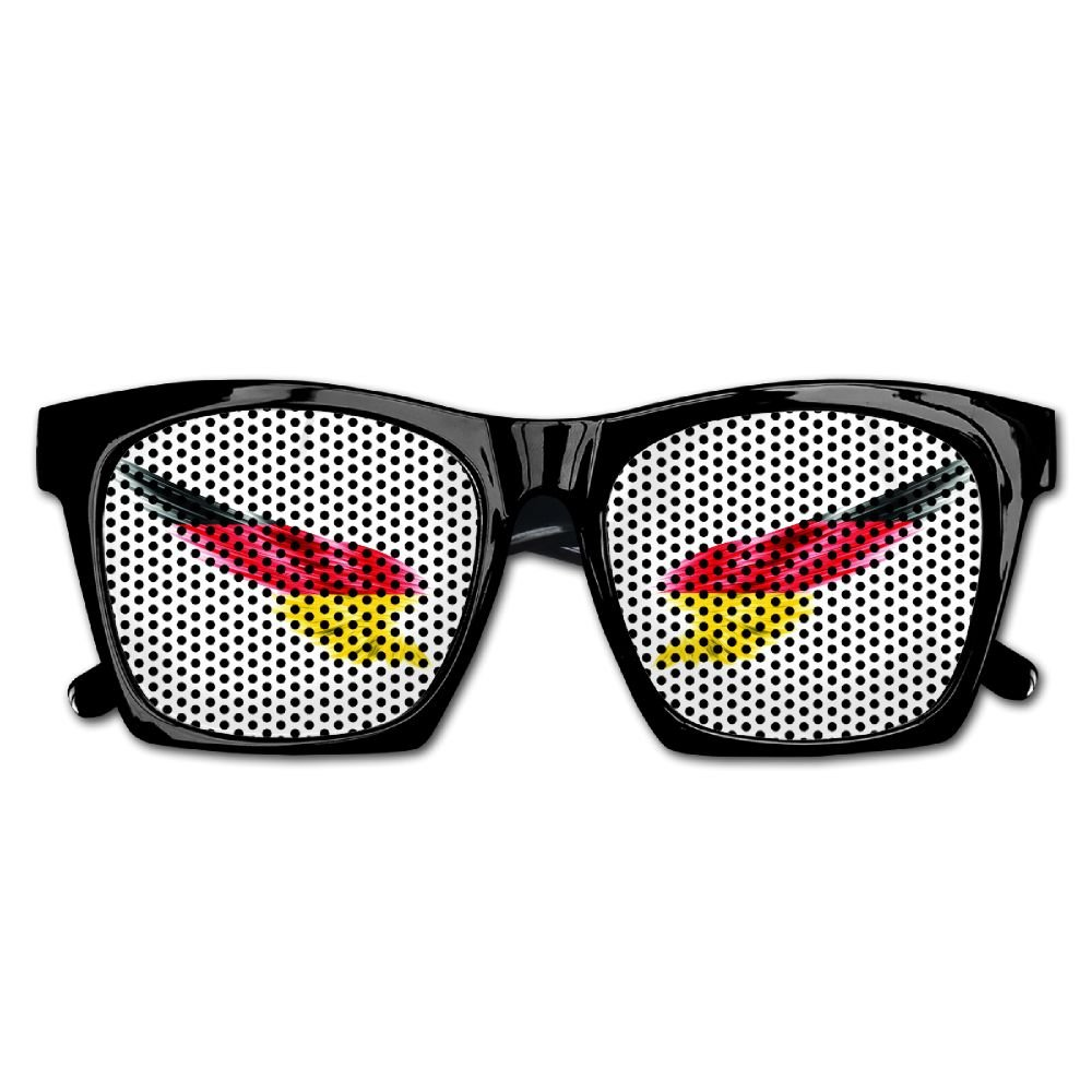 Xing Stars Colorful Summer Unisex Wing With Germany Flag Countries Fashion Party Costume Sunglasses