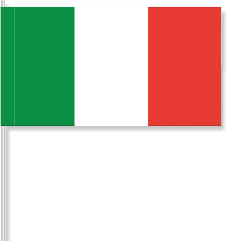 """Banderas de Papel """"Italia"""" (25 pz): Amazon.es: Oficina y papelería"""