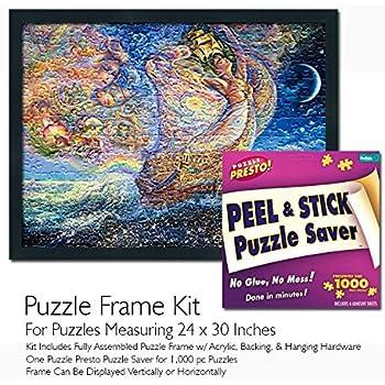 Amazon Com Jigsaw Puzzle Frame Kit Made To Display