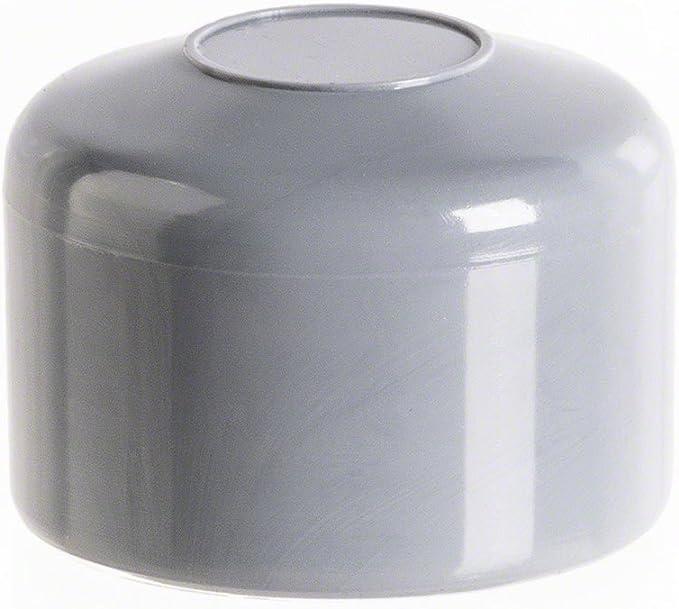 OuM 20 St/ück Pfostenkappe Zaunpfahlkappe rund 44,5mm Gr/ün