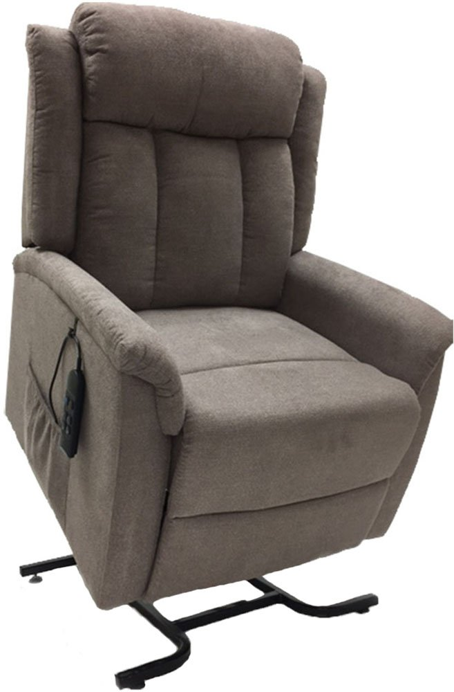 Perfect Comfort Infinite Position Lift Chair Recliner Designed by Golden Technologies for SpinLife, Flax