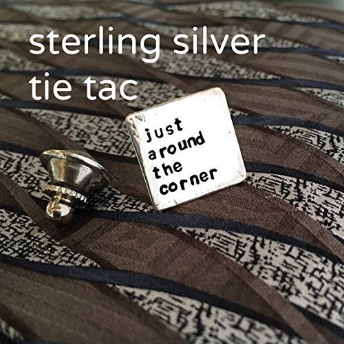 Sterling Silver custom made Tie Tac Pin (Witness Pins)