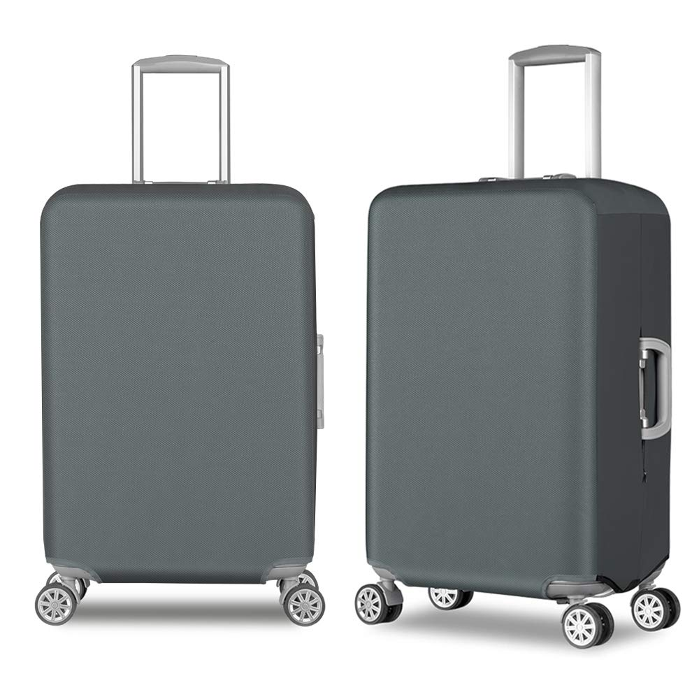 Travel Luggage Cover Durable Anti-Scratch Suitcase Protector Fits 20-30 Inch Luggage (Waterproof Oxford Fabirc+Elastic Cloth)
