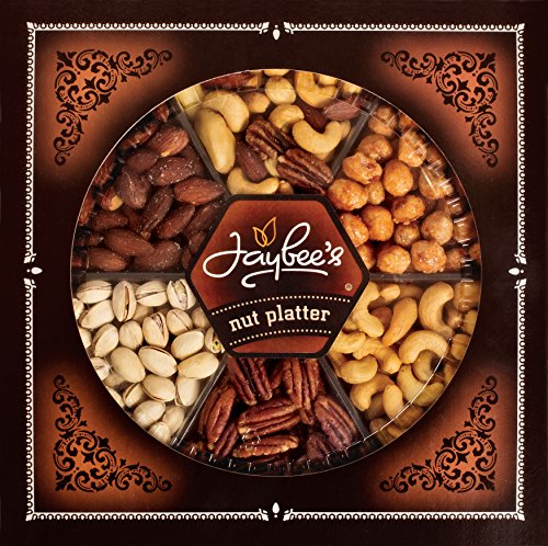Jaybee`s Gourmet gift basket Toffee peanuts mixed nuts (Toffee Baskets)