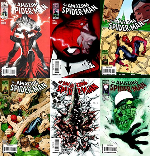 The Amazing Spider-Man #613-618 (1963-1998, 2003-2014) Limited Series Marvel Comics - 6 Comics