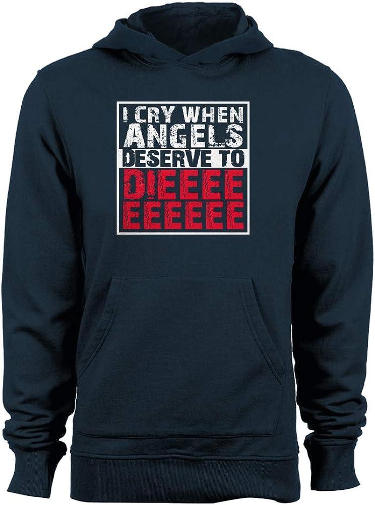 GEEK TEEZ Angels Deserve to Die Womens Hoodie
