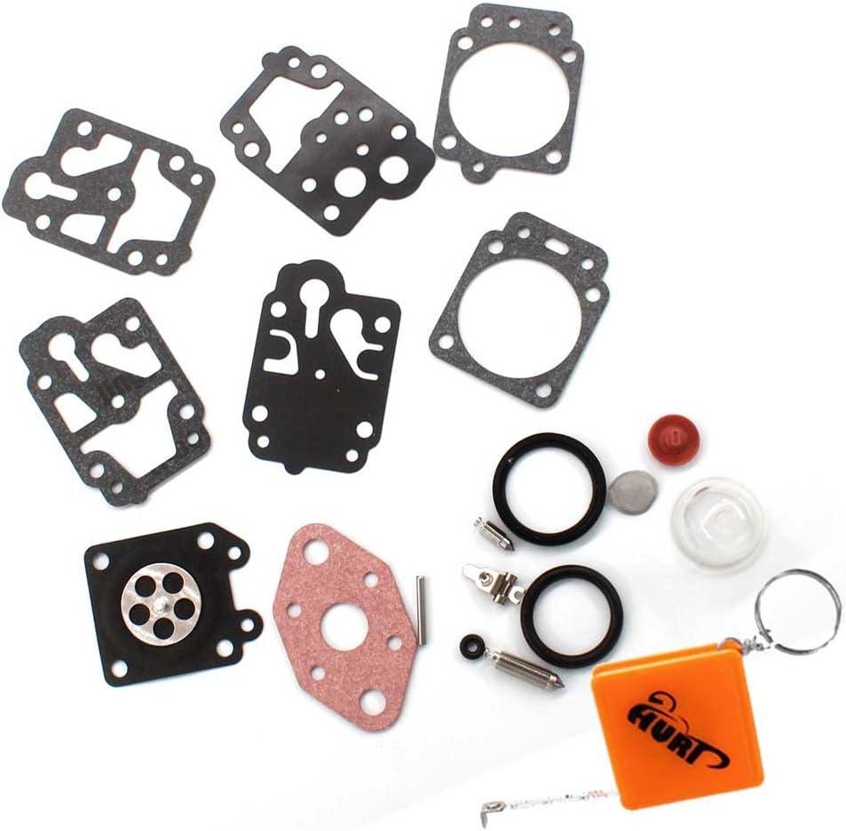 HURI - Kit de membranas de reparación para carburador de desbrozadora, para Motorsense, Fuxtec, Rotfuchs, Tarus, Timbertech, BC52, BC520: Amazon.es: Coche y moto