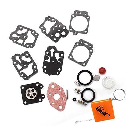 HURI - Kit de membranas de reparación para carburador de ...