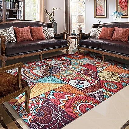 Lingyun tappeto in stile etnico soggiorno camera da letto tavolino ...