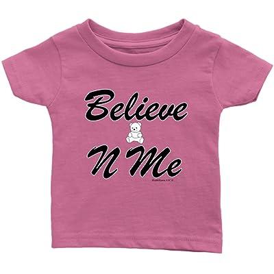 1Faith1Love Believe-N-ME Teddy Infant Tee, Pink