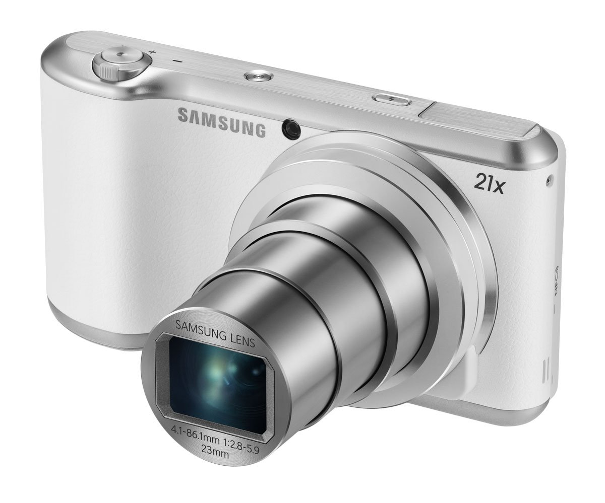 "Samsung Galaxy Camera 2 16.3MP CMOS with 21x Optical Zoom and 4.8"" Touch Screen LCD"