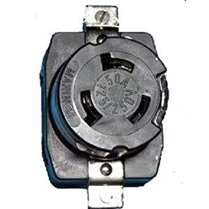 Marinco Power Products 6369CRS.OEM.Nms Receptacle, 50 Amp, 125V/250V Master/50