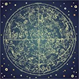 Poster 30 x 30 cm: Star map by Editors Choice art print, new art poster