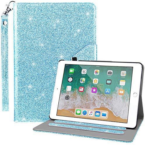 - Dailylux Case for iPad Mini,iPad Mini 2 Case,iPad Mini 3 Case,360 Degree Rotating Stand Bling Case Cover with Card Slots for iPad Mini 1/2/3 w/Auto Sleep/Wake Function-Blue