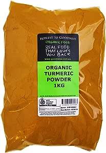 Honest to Goodness, Organic Turmeric, 1 Kilogram