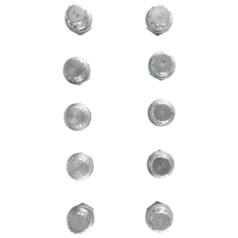 FreeTec 10pc Locking Wheel Nut Set Compatible for BMW