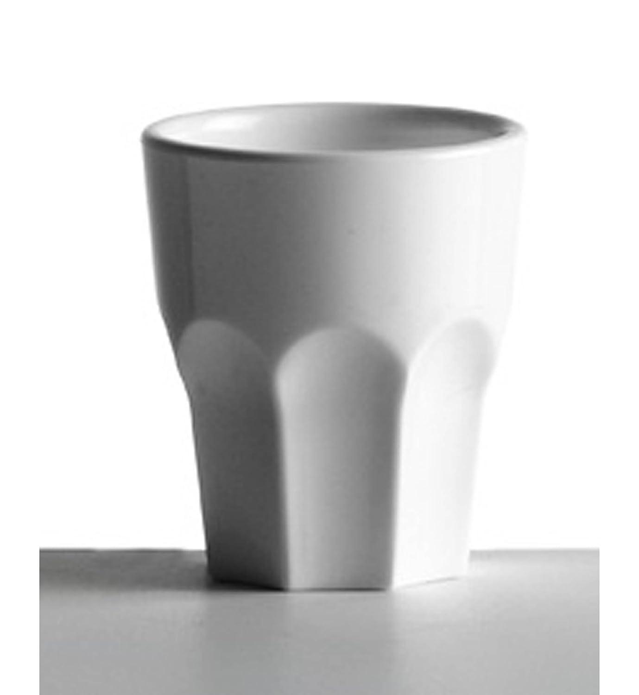 5/clColor Cartaffini/ blanco /6/vasos para chupito de metacrilato Capacidad al borde