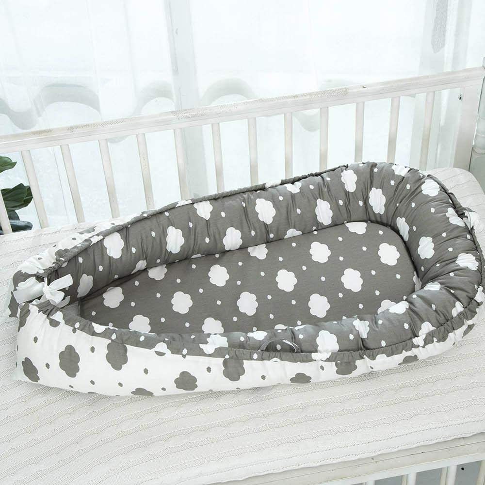 Volwco Infant Co-Sleeping Newborn Baby Bassinet Snuggle Bed Nest Baby Lounger//Nest//Bed 100/% Cotton Breathable Soft Portable Crib Mattress for Bedroom Travel