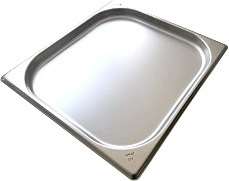 20 Millimeter GN Beh/älter Gastronorm 2//3 Edelstahl