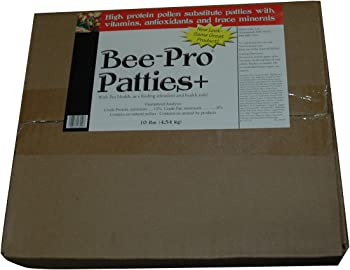 10-Pound Mann Lake Bee Patties With Pro Health