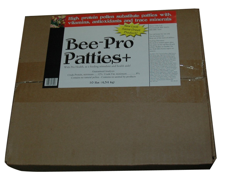 Mann Lake FD357 Bee Pro Patties with Pro Health, 10-Pound