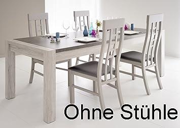 Esszimmertisch Marten 8 Grau Steinoptik 180x90x78cm Tisch ...