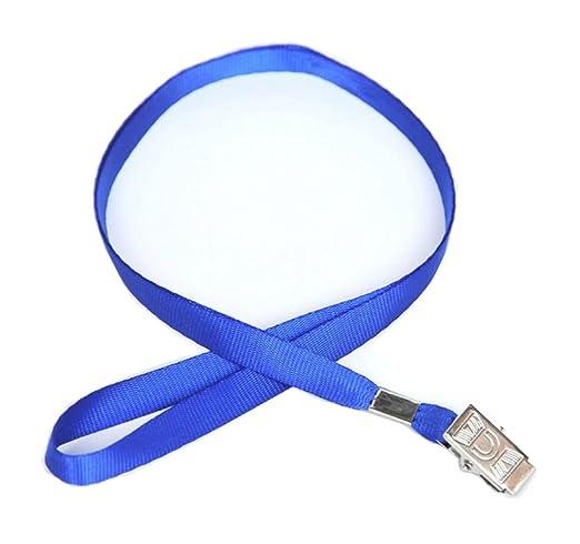 10 piezas de cordón azul con certificado de cadena, cuerda ...