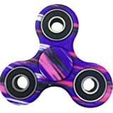 FIDGET DICE Hand Fidget Toy Spinners Stress Reducer with Ceramic Bearing (Purple)
