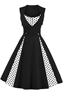 Bbonlinedress Retro Vintage Dresses for Women 1950 Elegant